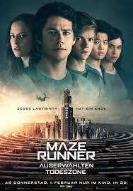 Cover der Buchverfilmung Mazer Runner 3 Auserwählten in der Todeszone